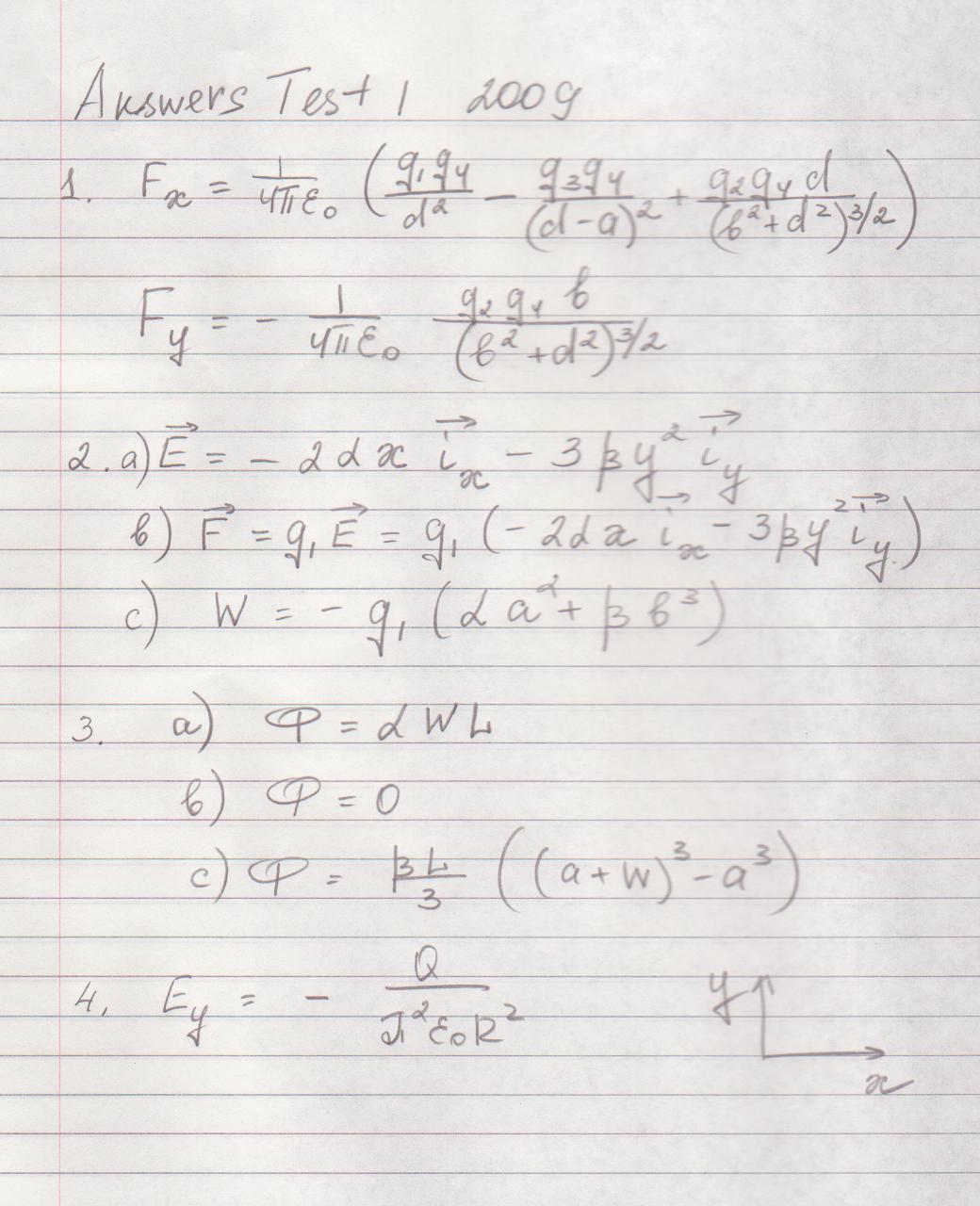 physics unit 1 test pdf